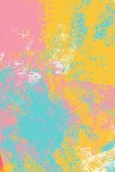 绚丽撞色水彩渐变底纹背景