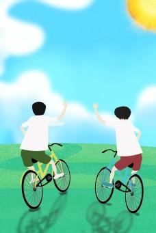 五四青年节致青春广告背景