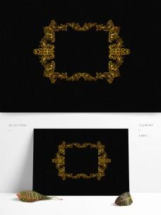 欧式边框花纹分割线常用复古矢量可商用元素