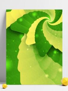 纯原创梦幻复古旋转绿色背景