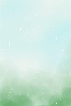 闪亮闪光绿色清新自然美景背景图