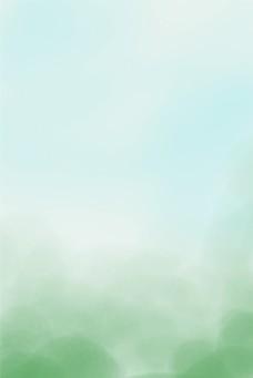 自然清新绿色唯美背景图