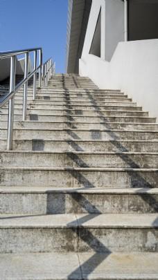 阳光下的小楼梯摄影