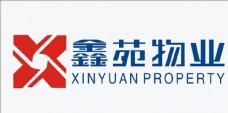 物业公司logo 鑫苑物业标志