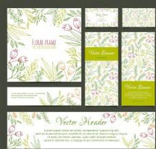 花卉背景封面