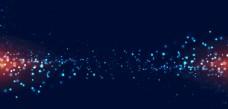 创意科技光效光斑海报背景素材