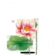 简单卡通花卉装饰图案