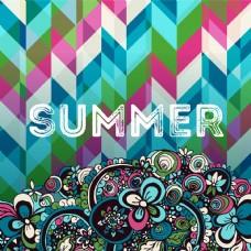 夏季海报涂鸦手绘元素