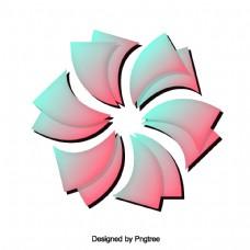 简单渐变抽象设计图案
