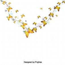 简单蝴蝶轮廓设计