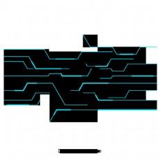 科技数字线曲线螺旋