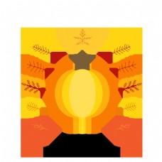 简单卡通秋季促销设计