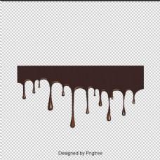 卡通手绘巧克力元素设计