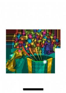 简单卡通礼品盒设计图案