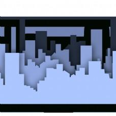 简单建筑景观元素设计