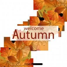 简单的手绘秋季促销设计