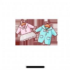 美丽童装推广创意材料设计