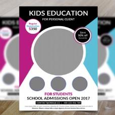 儿童教育传单