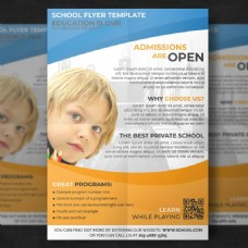 儿童教育传单模板
