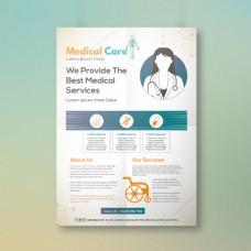 医疗整形外科海报
