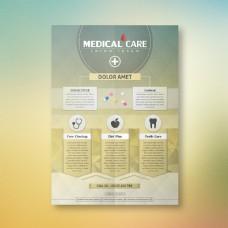 医疗检查传单设计
