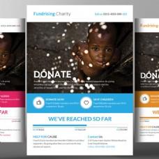 慈善机构宣传单模板