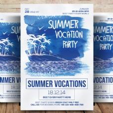 暑假职业传单
