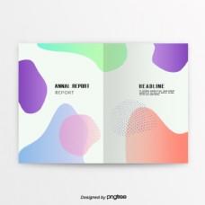 彩色油体逐渐变化商业化书