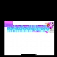 紫色电商在夏季推广创意艺术