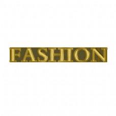 闪光时尚简约的字体设计