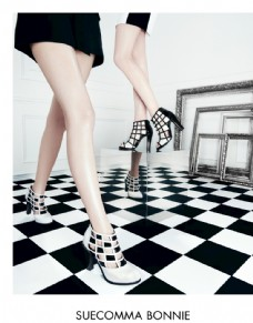 女鞋广告大片