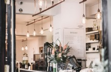 咖啡店收银台