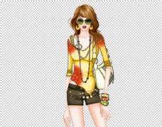 时尚潮流女孩