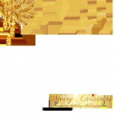 灰色和白色背景黑色圣诞风格设计
