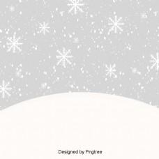 单纯可爱的童话冬雪墙纸