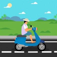 骑摩托车骑自行车骑摩托车骑上摩托车骑摩托车骑自行车
