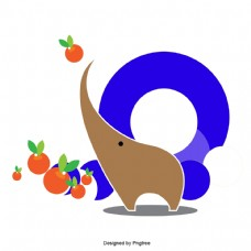 大象布朗的水果