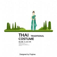女士的裙子绿色国际