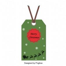 圣诞风格设计与灰色和白色背景