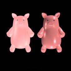 可爱立体小猪