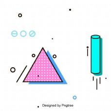 抽象的背景像素像素的几何元素