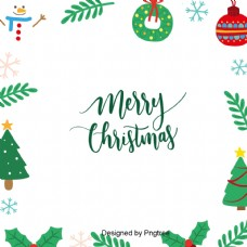 向量的圣诞雪人圣诞树框架