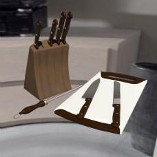 厨房用品刀具组合砧板