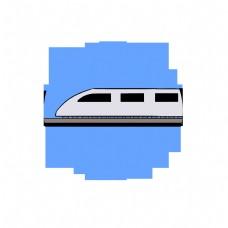 列车头特快列车火车