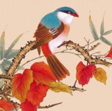 工笔花鸟 新中式装饰画 花鸟