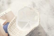 时尚韩版毛球鸭舌帽1