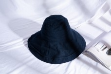 韩版女士大沿遮阳布帽35