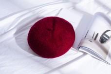 日系帽优雅贝雷帽29