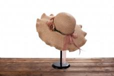 女士凉帽遮阳帽摄影图15