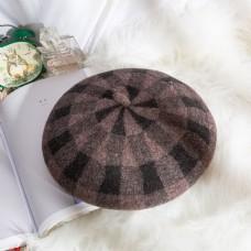 女士日系帽优雅贝雷帽30